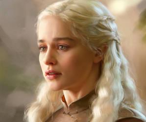 Daenerys study by kir-tat