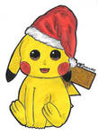 I wish you a pika Christmas and a pika New Year!! by LoveEmerald