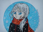 aph: Anton in the snow~ by LoveEmerald