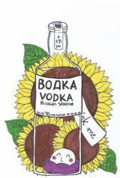 APH Inktober2018 - 18 - Bottle by LoveEmerald