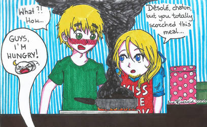 APH Inktober2018 - 19 - Scorched by LoveEmerald