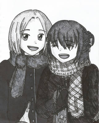 APH Inktober2018 - 28 - Gift by LoveEmerald