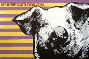 Pig 2 by StephenQuick