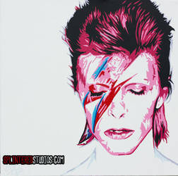 David Bowie by StephenQuick