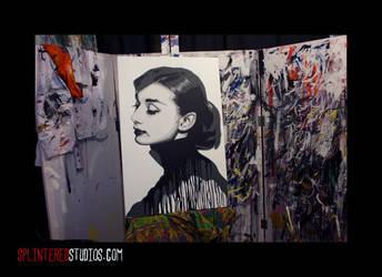 Audrey Hepburn by StephenQuick