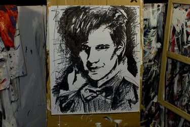 Dr Who (Matt Smith) by StephenQuick