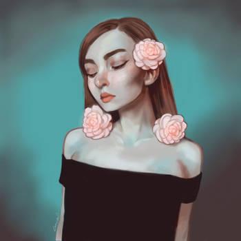 Portrait study I by CamishCD