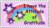 Attitude of Gratitude Stamp by StampsbyJen