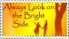 Bright Side Stamp by StampsbyJen