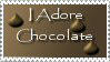 Chocolate Support Stamp by StampsbyJen