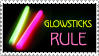 Glowsticks Rule stamp by StampsbyJen