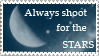 Shoot for the Stars Stamp by StampsbyJen