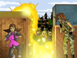 COM - Fire Fight by SkyPirateDash