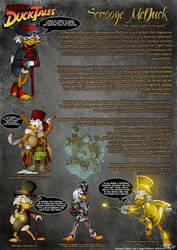 NEGAVERSE - Scrooge McDuck Profile by SkyPirateDash