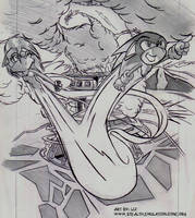 Sonic SATAM - Doomsday Scene by SkyPirateDash