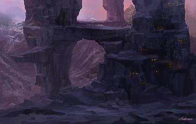 Concept-Snow Mountain by Ashramart