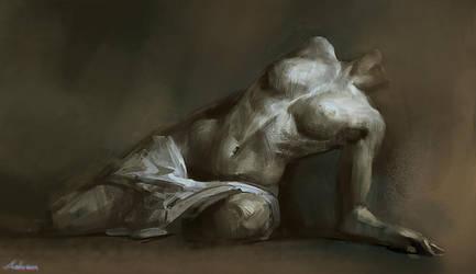 Human Study_002 by Ashramart