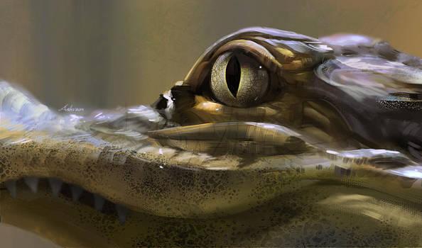 Alligator by Ashramart