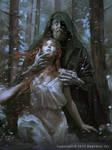 Hades and Persephone by Ashramart