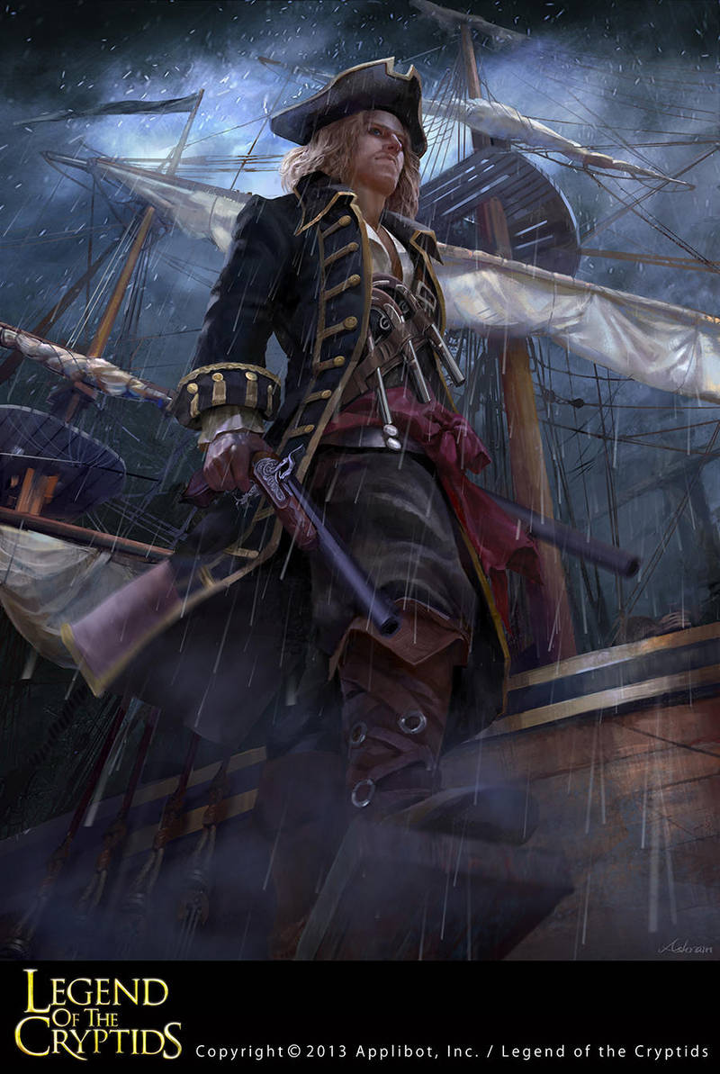 Legend of the Cryptids Pirate 2 by Ashramart