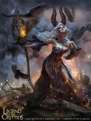 Witch by Ashramart