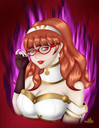 Fallen Celica with glasses by MKRUdesign