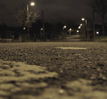 Road at night by TVRfan
