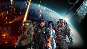 Mass Effect/Halo Mashup by lucylucycoles
