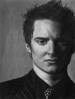 Graphite Elijah Wood by tiddlywink