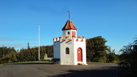 gun tower DSC02520red by piaglud
