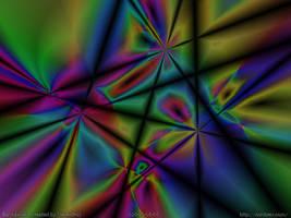 WP: Slashed Liquid Crystal by StevenRoy