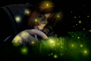 Fireflies into the Night by Macky-Sama