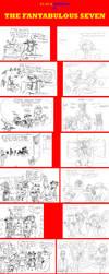The Fantabulous Seven comic by EUAN-THE-ECHIDHOG