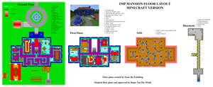 IMP Mansion floor layout - Minecraft by EUAN-THE-ECHIDHOG
