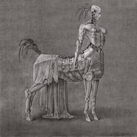 The unveiled mean robot centaur girl by SzL88