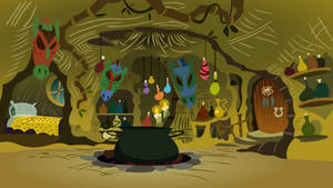 Inside Zecora's Hut by Mythogamer