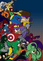 Marvel vs. Capcom 3: Marvel by Franckjp