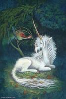 Woodland Unicorn by emmalazauski