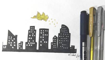 [P-NT] Poketober: 28#Ciudad by Cuteandcreepygirlxxx