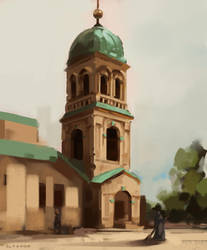 Bell Tower by ZaraAlfonso
