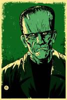 Frankenstein Poster by markwelser