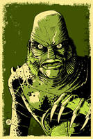 Creature from the Black Lagoon by markwelser