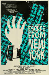 Escape From New York Poster by markwelser