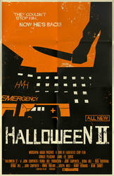 Halloween 2 Poster by markwelser