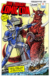 Erie Library Comic Con 2016 by markwelser