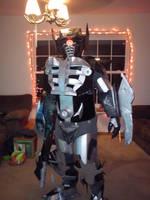 Shockwave Costume by ShockBlade501