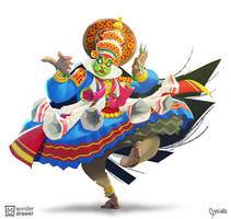 Character Design Challenge: Indian Dancer by JaimeQuianoJr