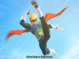 Great Super Saiyanman by JaimeQuianoJr