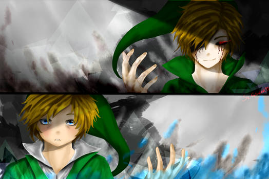 Ben Drowned And Link By Giancar999 On Deviantart