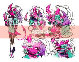 [CLOSED] Adopts - A mad nurse ( Devil #5 ) by Titi-S2